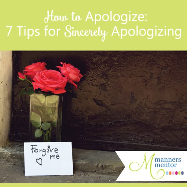How to Apologize: The 7 Steps Of a Sincere Apology