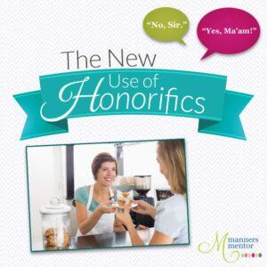 The New Use of Honorifics