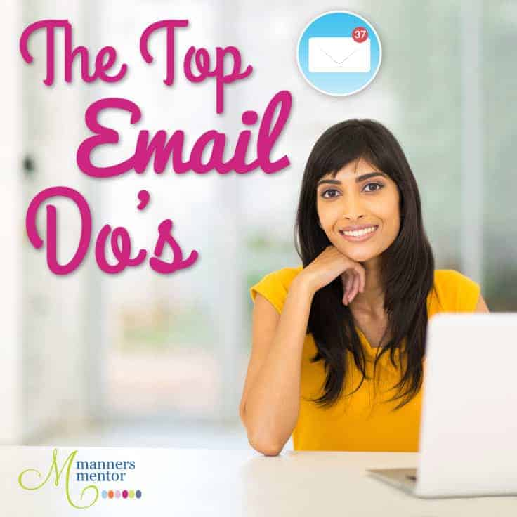 The Top Email Do's