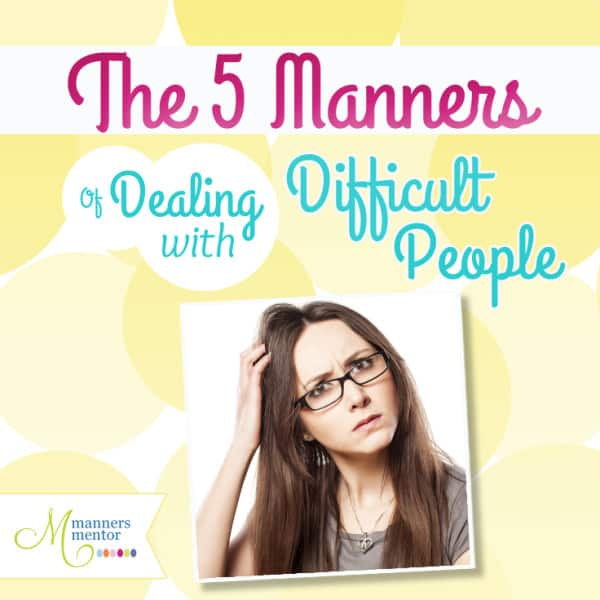 How to Deal with Difficult People_Option One