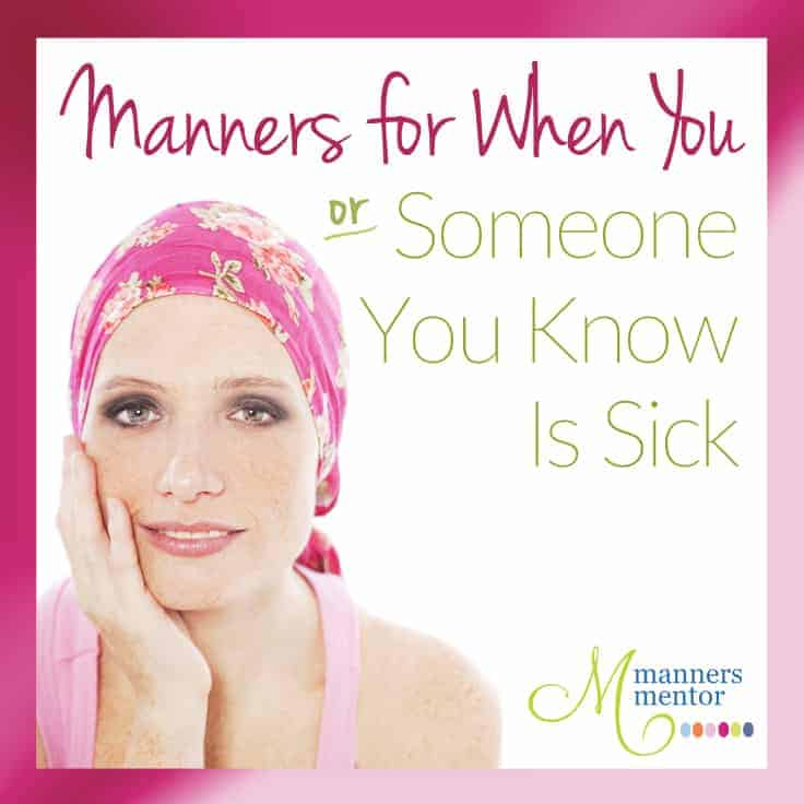 Manners for When Someone is Sick_Option One