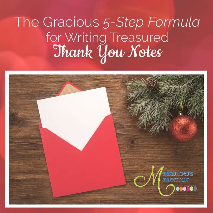 Gracious Thank You Notes for Wedding Gifts