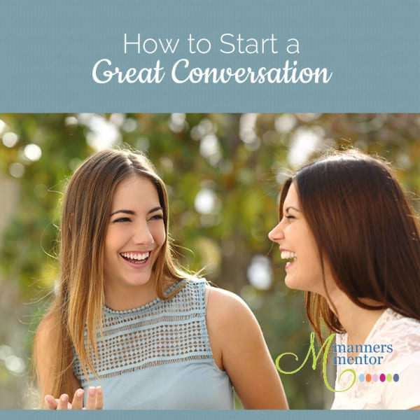 How to Start a Great ConversationX