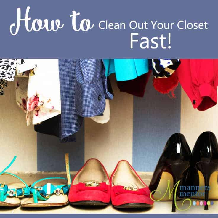 How To Clean Out Your Closet Fast