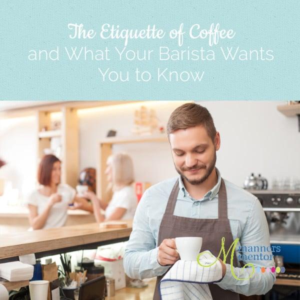 etiquette of coffee