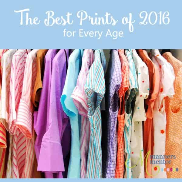 The Best Prints of 2016 for Every Age