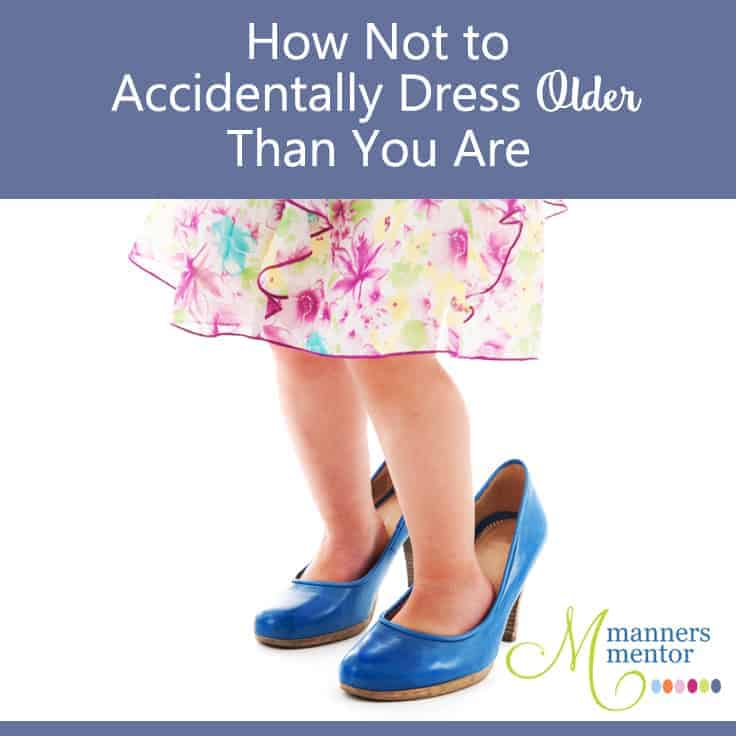 How Not to Dress Older Than You Are - Accidentally!