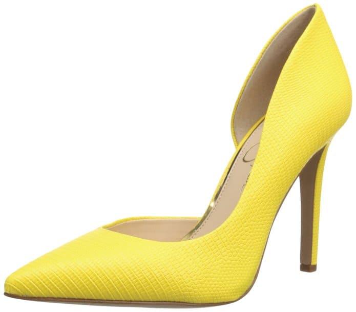 "Jessica Simpson ""Claudette"" D'Orsay pumps, starting at $30, Amazon"