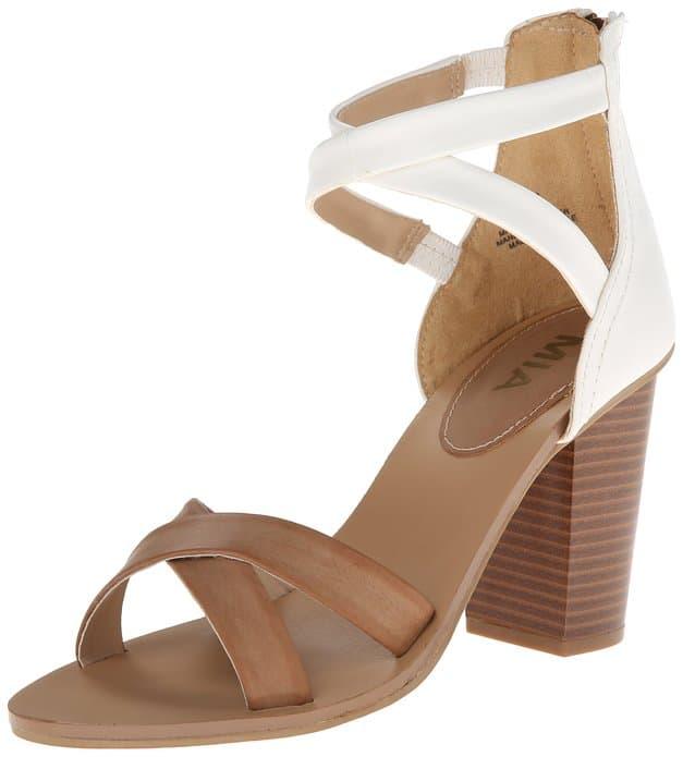 """MIA """"Sade"""" sandal, starting at $17, Amazon"""