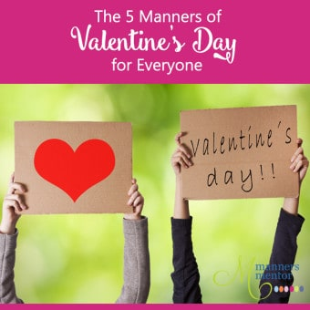 Valentine's Day manners