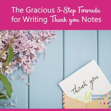how to write great thank you notes