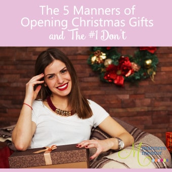 The 5 Manners of Opening Christmas Gifts and The #1 Don't