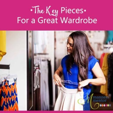 The Key Pieces For a Great Wardrobe