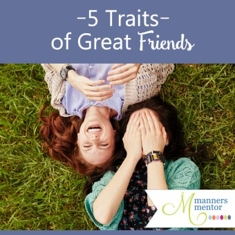 5 Traits of Great Friends