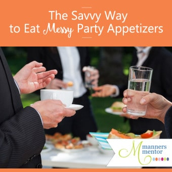 the etiquette of eating appetizers