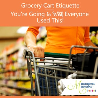 grocery cart etiquette