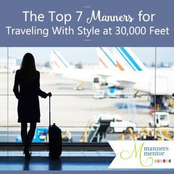 The Top Manners for Traveling With Style at 30,000 Feet