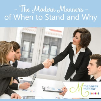 when to stand and why