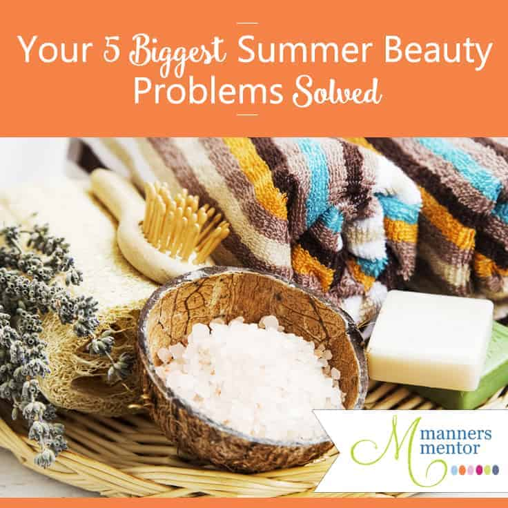 Your 5 Biggest Summer Beauty Problems Solved