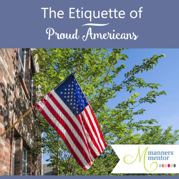 U.S. Flag, Pledge of Allegiance, and National Anthem Etiquette