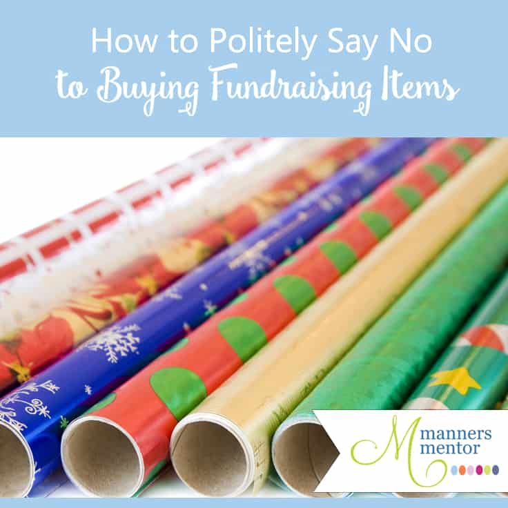 How to Politely Say No to Buying Christmas Fund Raising Items