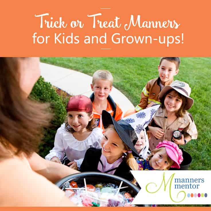Trick Or Treat Manners For Kids And Grownups