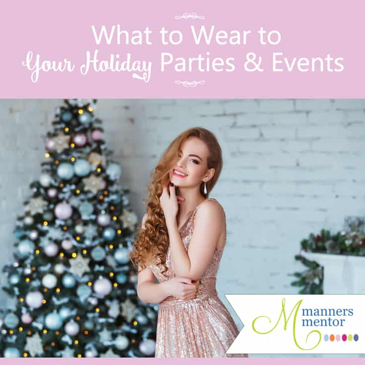 How to Decide What to Wear to Your Holiday Parties and Events