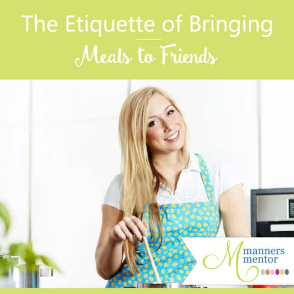 The Etiquette of Brining Meals to Friends