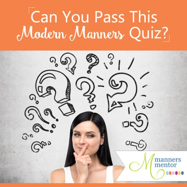 Can You Pass This Modern Manners Quiz?