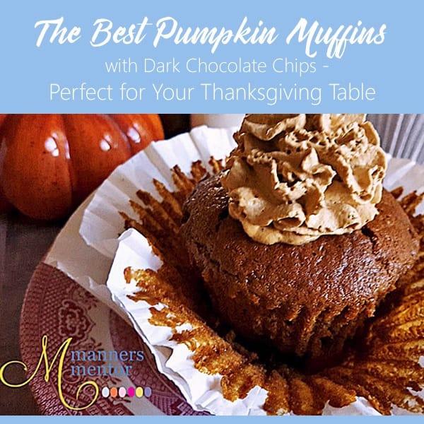Best Pumpkin Muffins