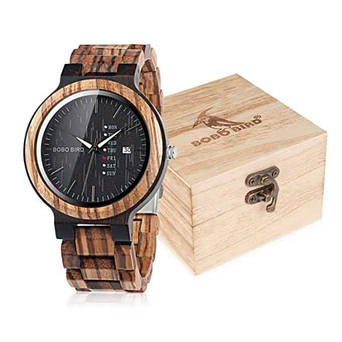 Ask Emily Post Etiquette: BOBO BIRD Wood Watch With Day And Date