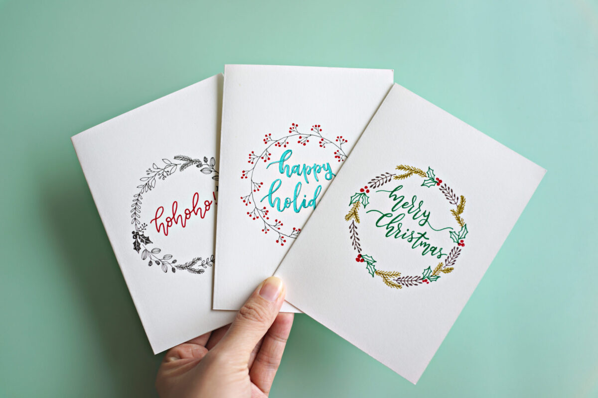 christmas card manners christmas card manners