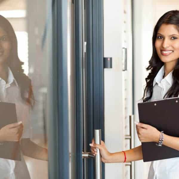 What is the modern etiquette for holding the door for others? Discover how these modern etiquette tips will help you appear classy and poised.