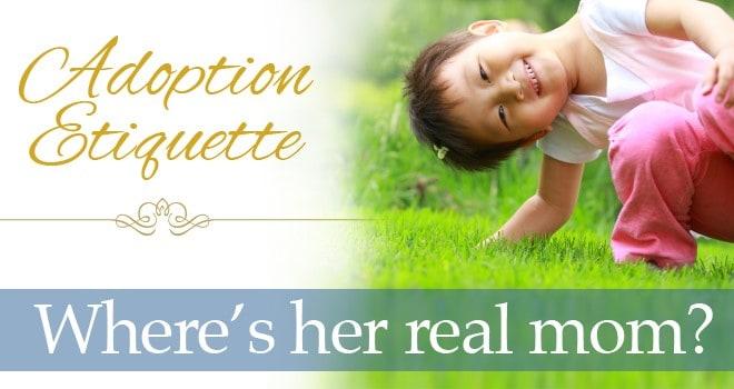 Adoption Etiquette